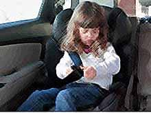 В России разрешили перевозить детей без автокресел