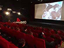 В Тимашевске  прошло киномероприятие «Москва - за нами!»
