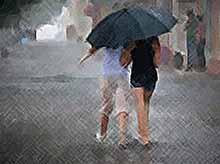 На Кубани снова прогнозируют сильные дожди и грозы