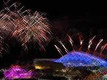 В Сочи прошла генеральная репетиция церемонии открытия Олимпиады-2014