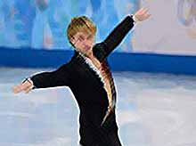 Евгений Плющенко занял второе место в короткой программе  (видео)