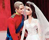 Принца  Уильяма и герцогиню Кейт  воплотили в Barbie