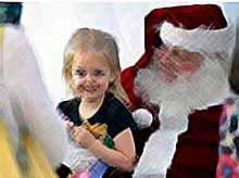 Детям нужно верить в Деда Мороза