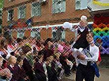Последние звонки  прозвенели в школах Тимашевского района