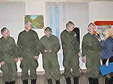 В Тимашевске прошел отборочный тур конкурса «Оружие - песня»