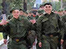 Министерство обороны планирует сильно сократить число солдат-срочников.