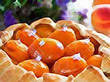 Летние десерты с абрикосами