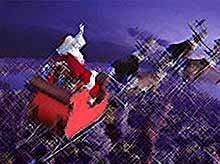 За полетом Санта -Клауса можно следить с смартфона (видео)