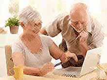 С заявлением о назначении пенсии можно обратиться через Интернет