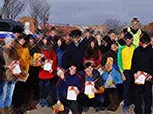 Тимашевские студенты получили свои дипломы о прохождении стажировки о органах внутренних дел.