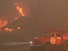 В ст.Медведовской во время пожара погибли мать и двое ее малолетних детей.