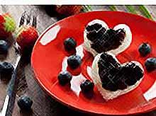 Идеи для завтрака в День Святого Валентина