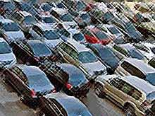 В России снизились продажи легковых авто