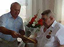 В Тимашевске поздравляли с юбилеем  почетного гражданина города.