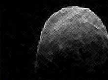 Опасный астероид размером с авианосец пролетел рядом с Землей (видео)