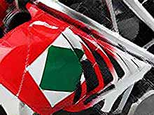 Мотоцикл CR&S VUN Tricolore