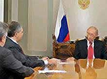 Владимир Путин дал интервью ведущим российским телеканалам  (видео)