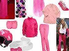 С чем сочетать одежду розового цвета?