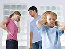 Ссоры между родителями отражаются на ребенке