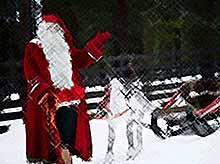 Санта-Клаус посетил Москву