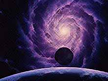 Нашли, отдаленное от Земли скопление галактик