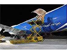 Самый длинный в мире Boeing привез олимпийский груз в Сочи