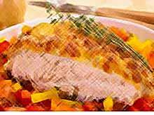 Осенние рецепты: запеченная куриная грудка