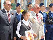 В Тимашевске заложили капсулу с Посланием  будущему поколению