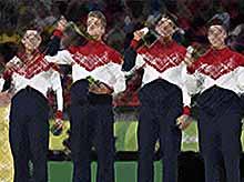 Российские гимнасты завоевали серебро в командном первенстве Олимпиады— 2016