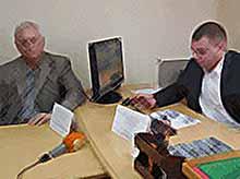В Тимашевске прошла пресс-конференция на тему: «Эффективные методы борьбы со сбытом поддельных денежных купюр»