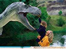 В Геленджике открылся Парк динозавров под открытым небом