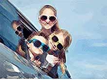 Как доехать с детьми на отдых  без проблем