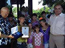 Семья Ильченко из Тимашевска удостоена медали «За любовь и верность»
