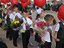 Как в Тимашевске отметили 1 сентября
