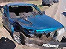 В Тимашевском районе произошло серьезное ДТП.Виновник аварии скрылся с места происшествия.