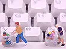 Как часто россияне покупают товары повседневного спроса через интернет