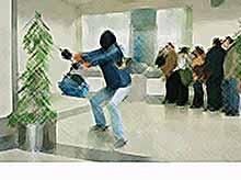 В Краснодаре  ограбили банк на два миллиона