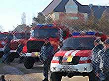 Пожарная часть из Тимашевского района признана лучшей на Кубани