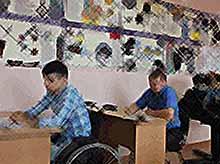 В Тимашевске  обучают вождению инвалидов.