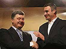 Предварительно  новым президентом Украины избран Петр Порошенко
