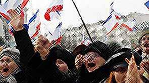 Крым и Севастополь вышли из состава  Украины