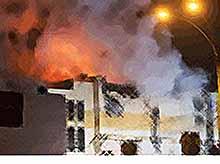 При пожаре в Кемерово погибли десятки человек, среди которых большинство - дети.