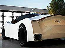 Концепт летающего автомобиля будущего Astrum Meera