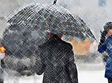 На Кубань вернутся дожди со снегом