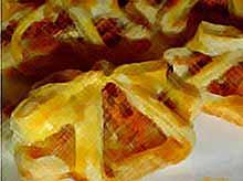 Осенние рецепты : конвертики с тыквенно-ореховой начинкой