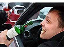 Пьяный за рулем - это недопустимо!