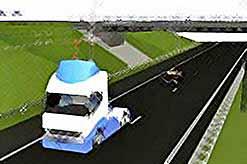 Первое электрифицированное шоссе для экологически чистых грузовых перевозок