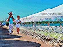 Пляжи Анапы закрыли для туристов из-за холодной воды в море