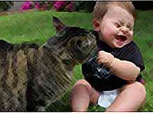 Такие чудные детки и животные.. (фото)