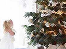 Как знаменитости нарядили елки